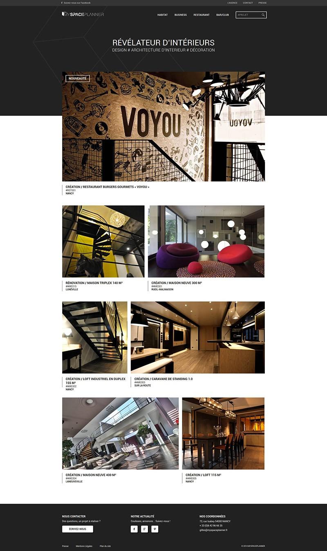 Catpure d'écran du site MYSPACE PLANNER